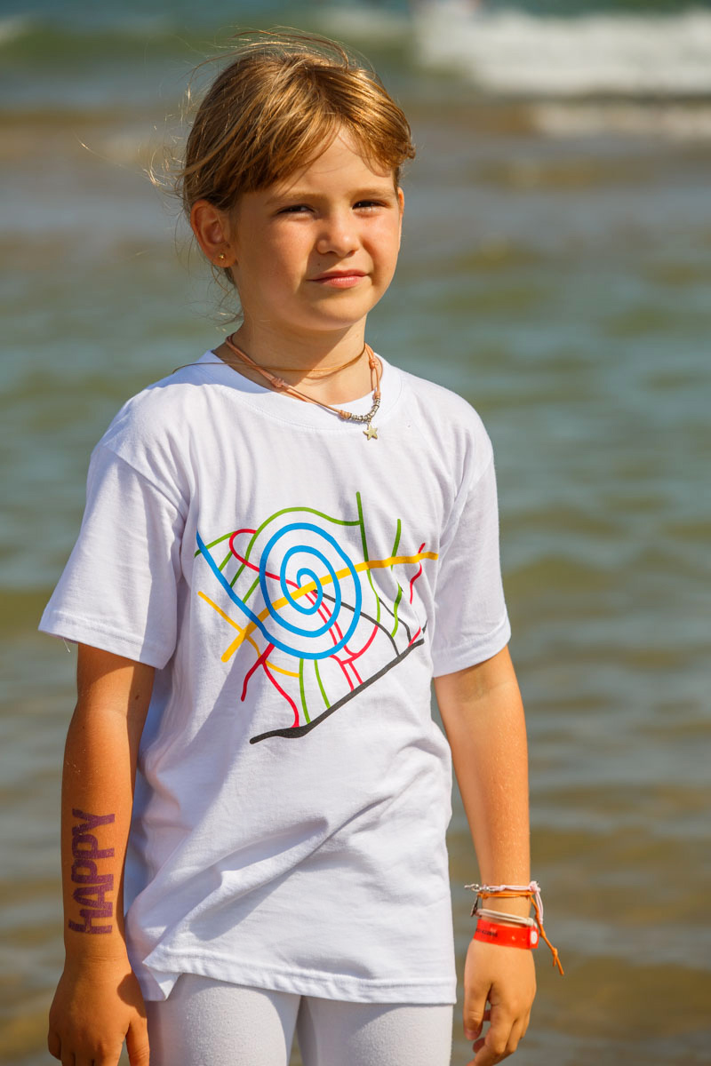 T-Shirt Map kids white